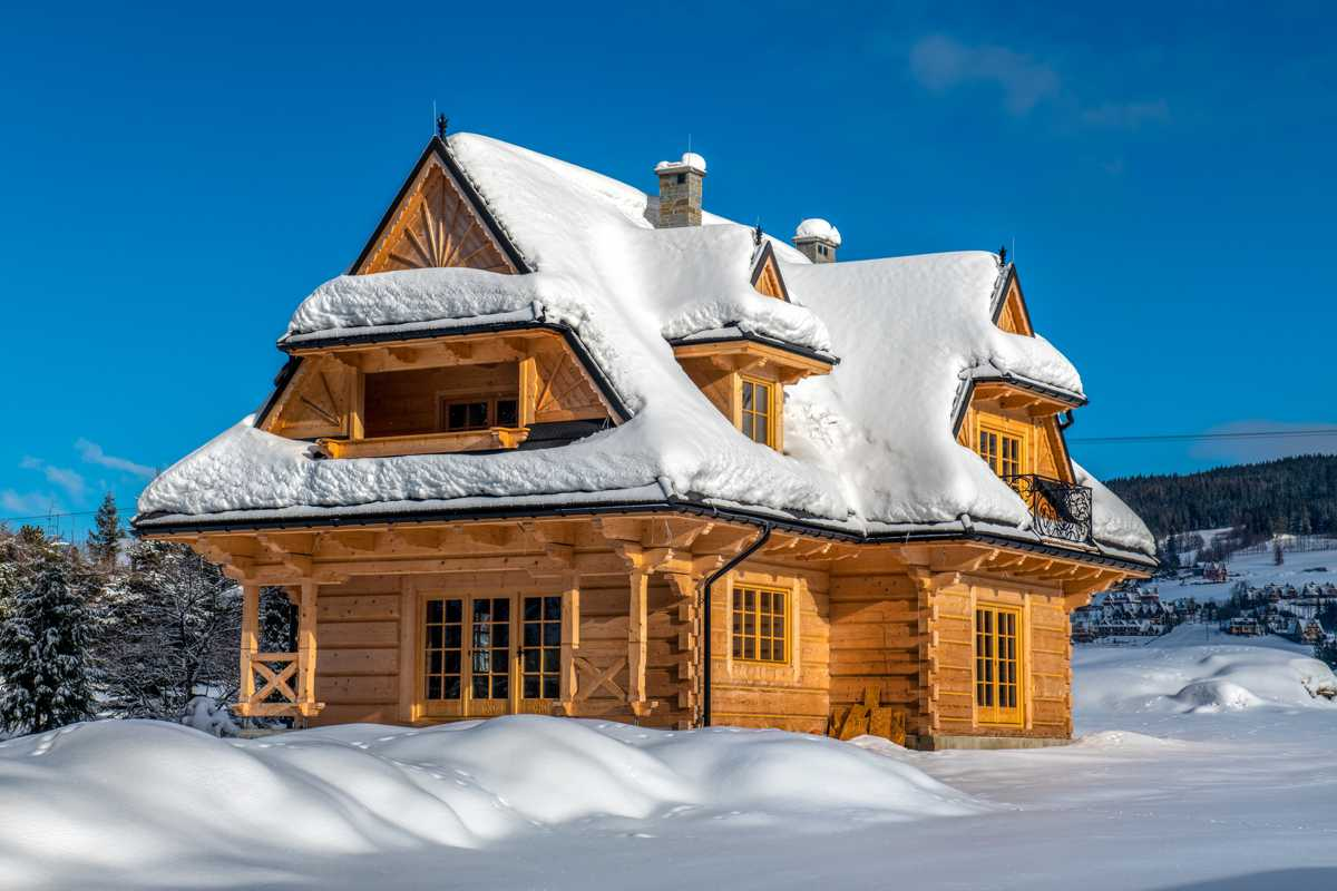 Zakopane zimą - nocleg - Domek letniskowy w górach