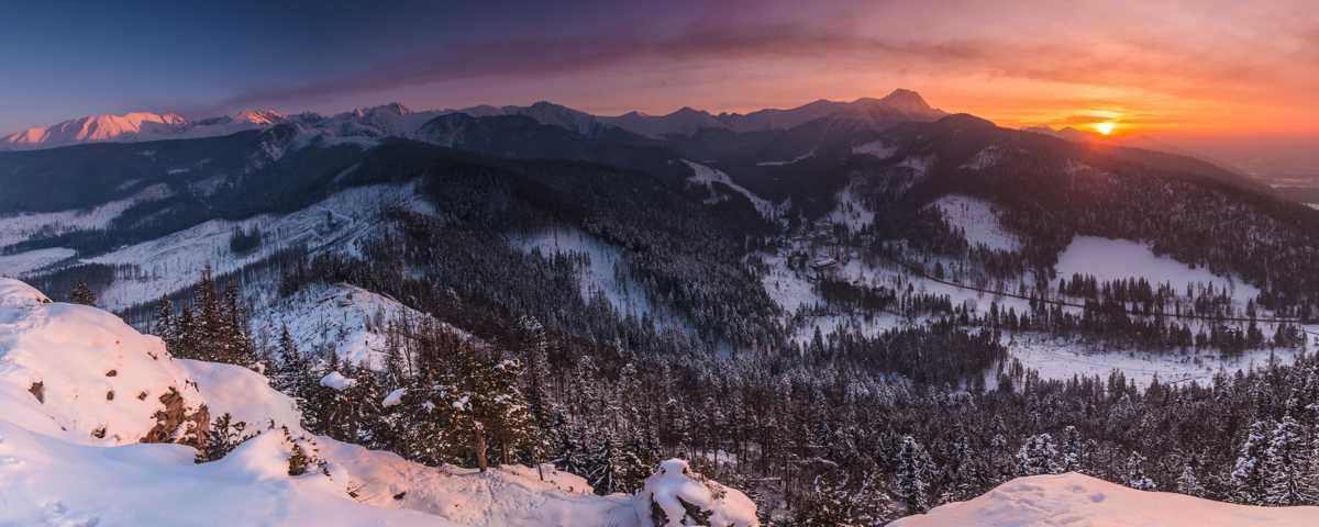 Szczyty i szlaki turystyczne w Tatrach