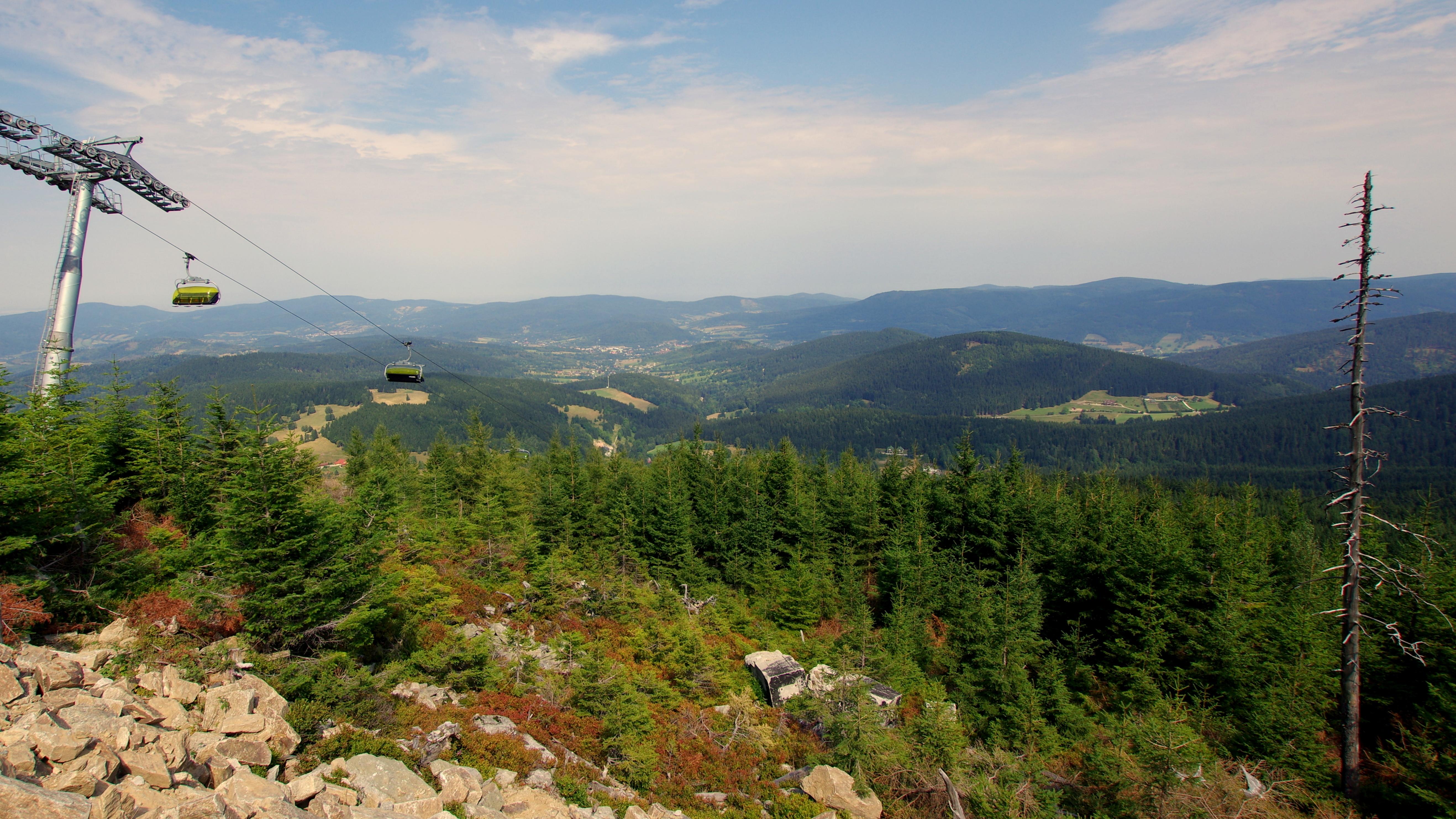 Noclegi Czarna Góra - wyciąg narciarski
