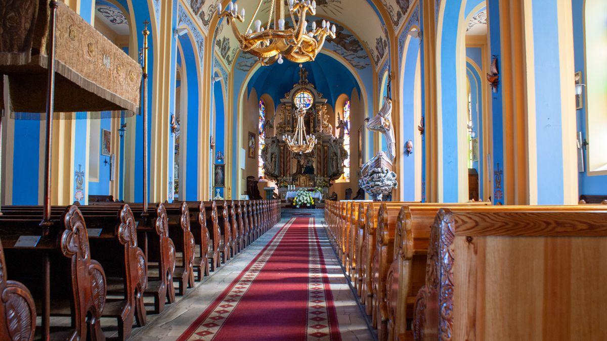 Jastarnia, Parafia rzymskokatolicka pw. Nawiedzenia NMP