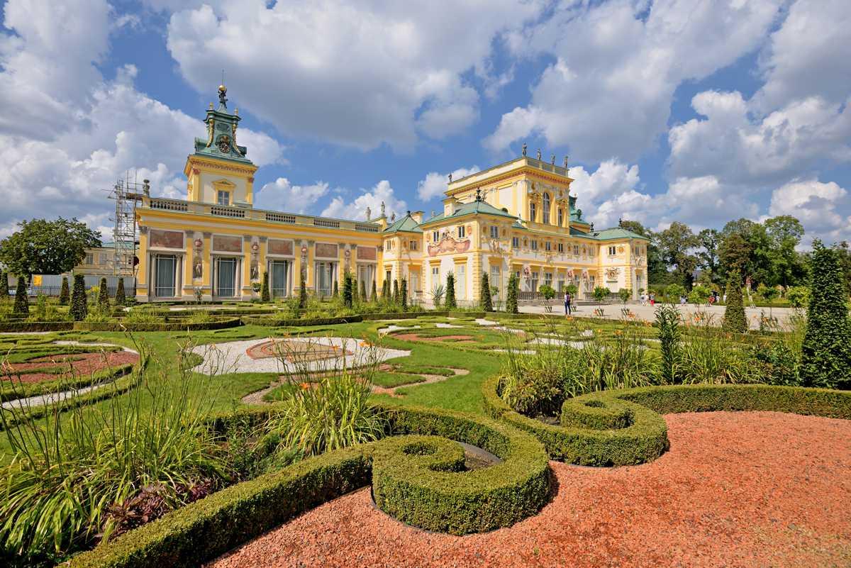 Ogrody w Wilanowie - Pałac