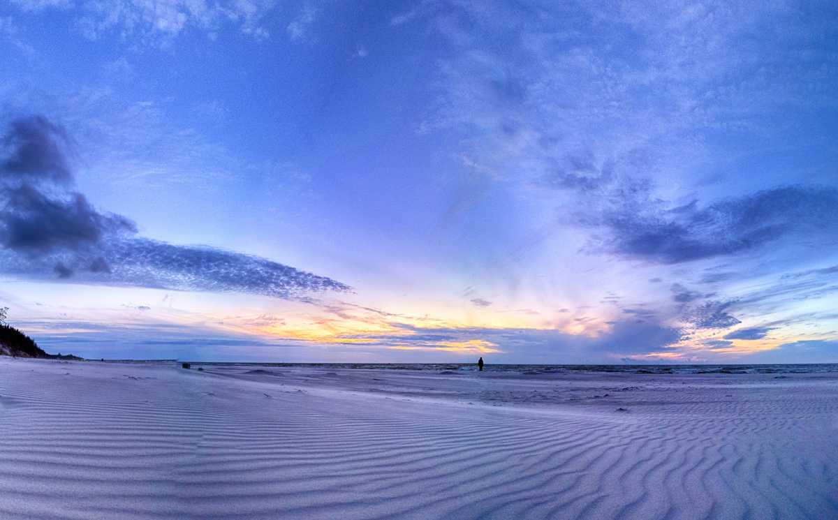 Najpiękniejsze plaże w Polsce - plaża w Łebie