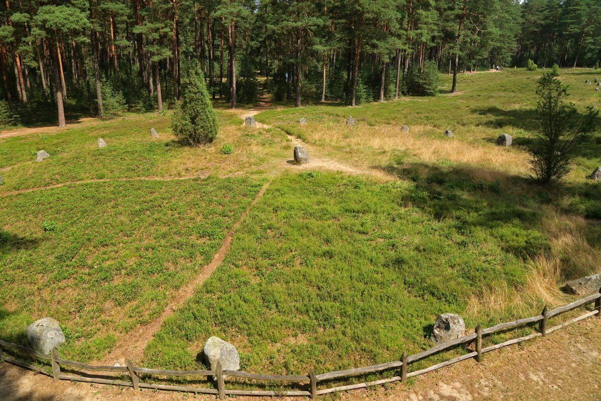 Bory Tucholskie - kamienne kręgi