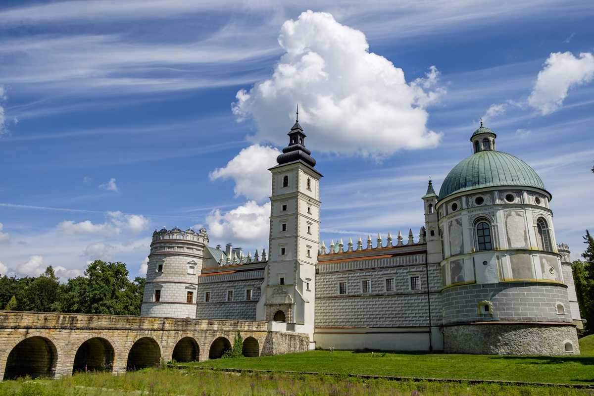 Zamek w Krasiczynie atrakcja na Podkarpaciu