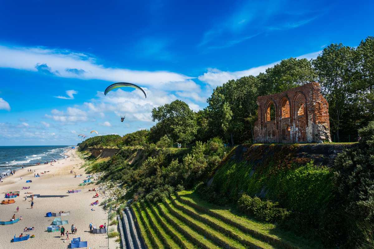 Najpiękniejsze plaże w Polsce - Plaża w Trzęsaczu